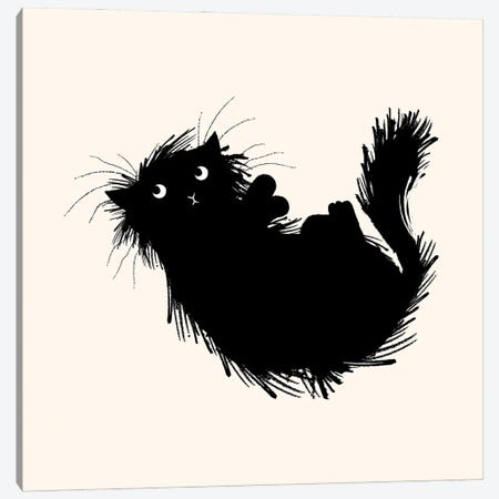 Moggy No.3 Canvas Print #OLV98} by Oliver Lake Canvas Print