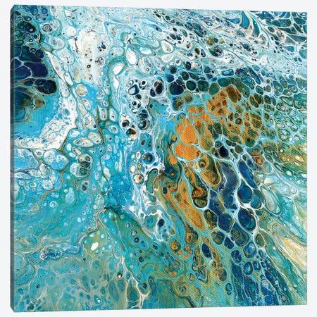 Blue River Canvas Print #OMA1} by Ocllo Mason Art Print