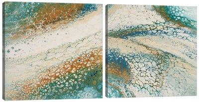 Sandbar Diptych Canvas Art Print
