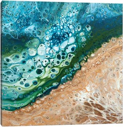 Cosmic Bubble Bath Canvas Art Print