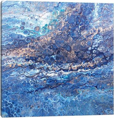 Blue Day Canvas Art Print