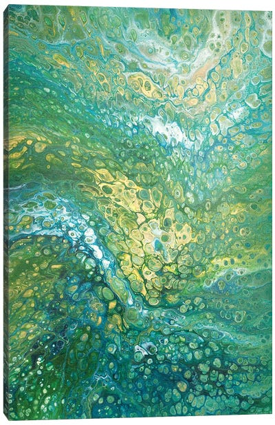 Green Goddess Canvas Art Print