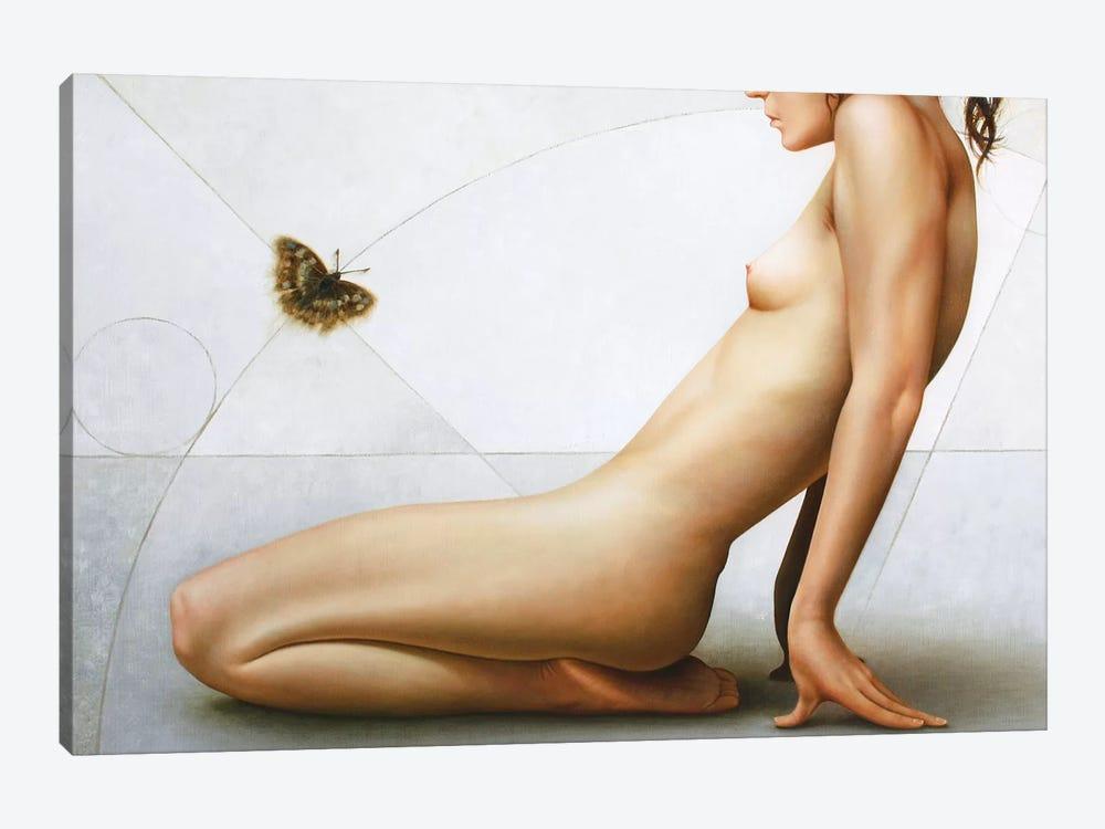 Gymnast by Omar Ortiz 1-piece Canvas Art
