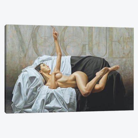 Immune To Fashion I Canvas Print #OMO15} by Omar Ortiz Canvas Artwork