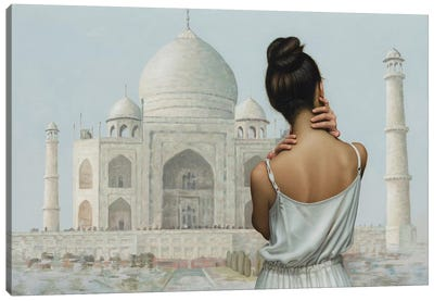 India Canvas Art Print