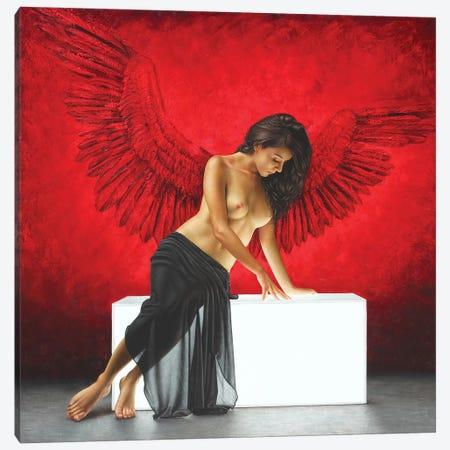La Temptation Canvas Print #OMO18} by Omar Ortiz Canvas Print