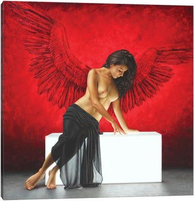 La Temptation Canvas Art Print