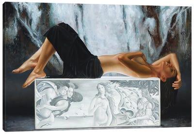 The Birth Of Venus Canvas Art Print