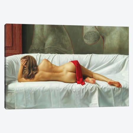The Venus Of Milo Canvas Print #OMO37} by Omar Ortiz Canvas Art