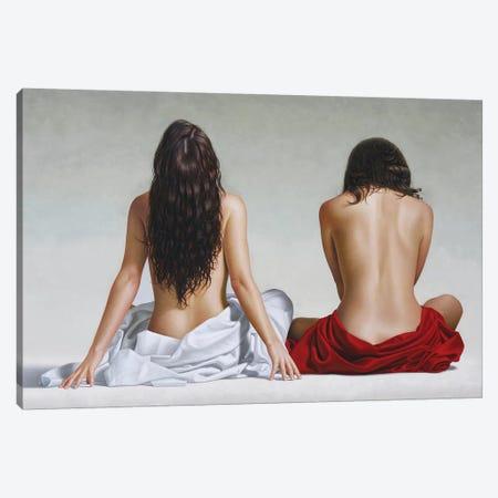 The Wait Canvas Print #OMO38} by Omar Ortiz Canvas Print