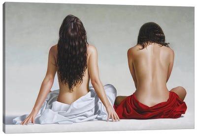 The Wait Canvas Art Print