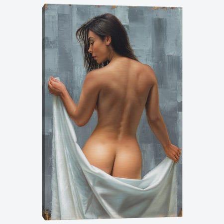 Between Gray Canvas Print #OMO5} by Omar Ortiz Canvas Artwork