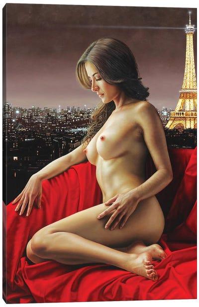 The City Of Light Canvas Art Print