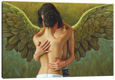 The Winged Gentelman Canvas Art Print