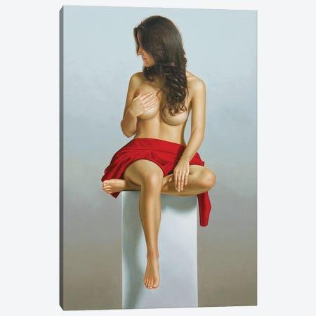 Female Deity In Red Canvas Print #OMO80} by Omar Ortiz Canvas Wall Art