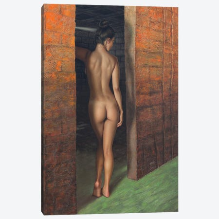 Hoyuelos De Venus Canvas Print #OMO86} by Omar Ortiz Art Print