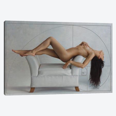 La Espiral Áurea Canvas Print #OMO89} by Omar Ortiz Canvas Art