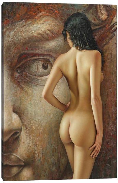 La Mirada Del Coloso Canvas Art Print