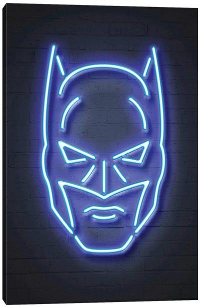 Neon Luminosity Series: Batman Canvas Print #OMU100