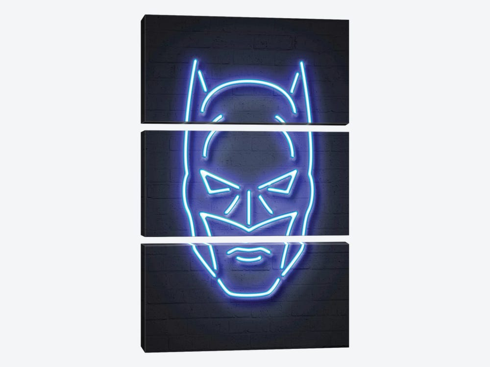 Batman by Octavian Mielu 3-piece Canvas Print