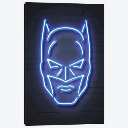 Batman 3-Piece Canvas #OMU100} by Octavian Mielu Canvas Art Print