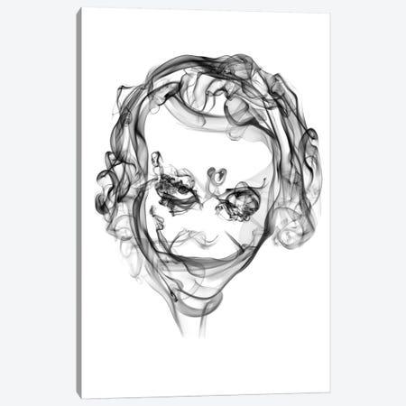Joker Canvas Print #OMU10} by Octavian Mielu Canvas Art Print