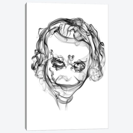 Joker Canvas Print #OMU10} by Octavian Mielu Canvas Art Print
