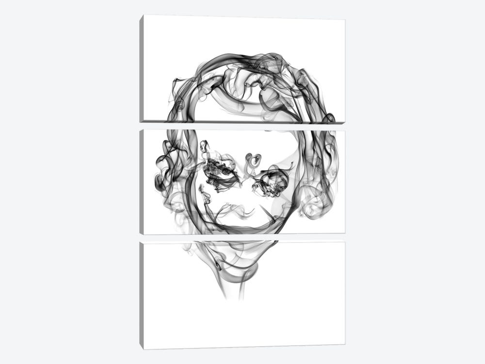 Joker by Octavian Mielu 3-piece Canvas Print