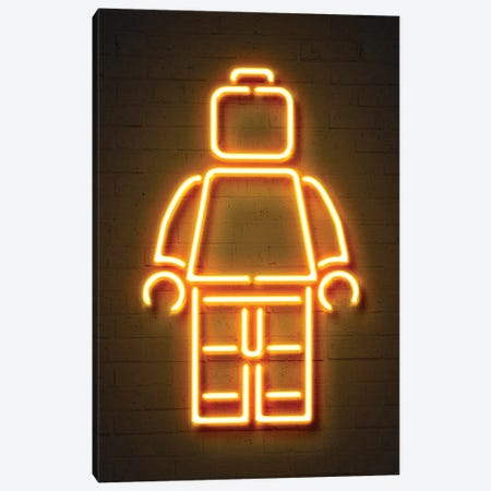 Minifig Canvas Print #OMU112} by Octavian Mielu Canvas Art
