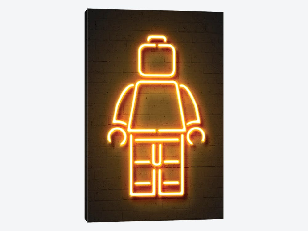Minifig by Octavian Mielu 1-piece Canvas Artwork