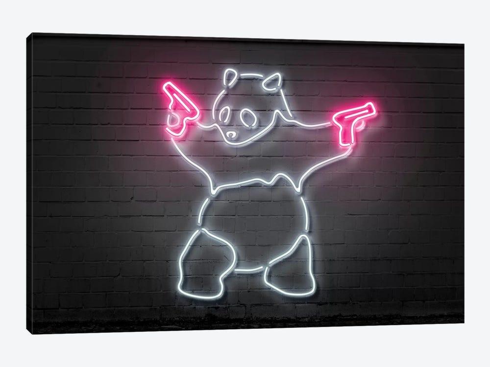 Panda With Guns by Octavian Mielu 1-piece Art Print