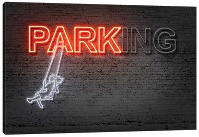 Neon Luminosity Series: Park Canvas Print #OMU118