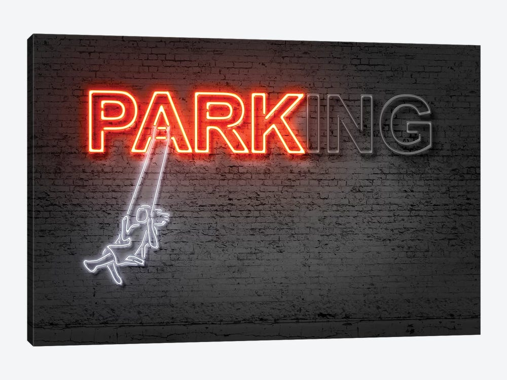 Park by Octavian Mielu 1-piece Canvas Wall Art