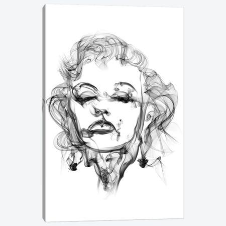 Marilyn Monroe Canvas Print #OMU11} by Octavian Mielu Art Print