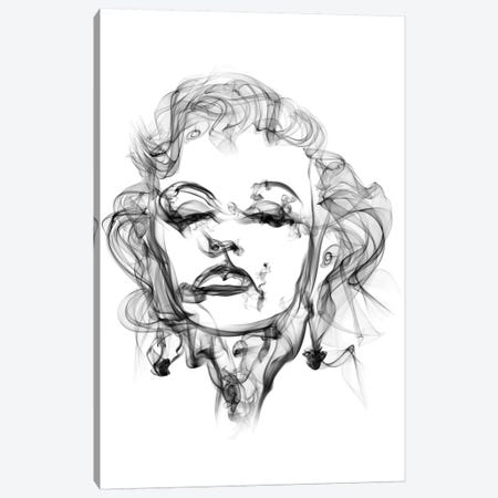Marilyn Monroe Canvas Print #OMU11} by Octavian Mielu Art Print