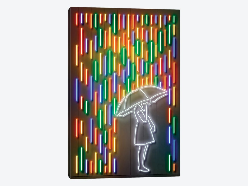 Rain by Octavian Mielu 1-piece Canvas Print
