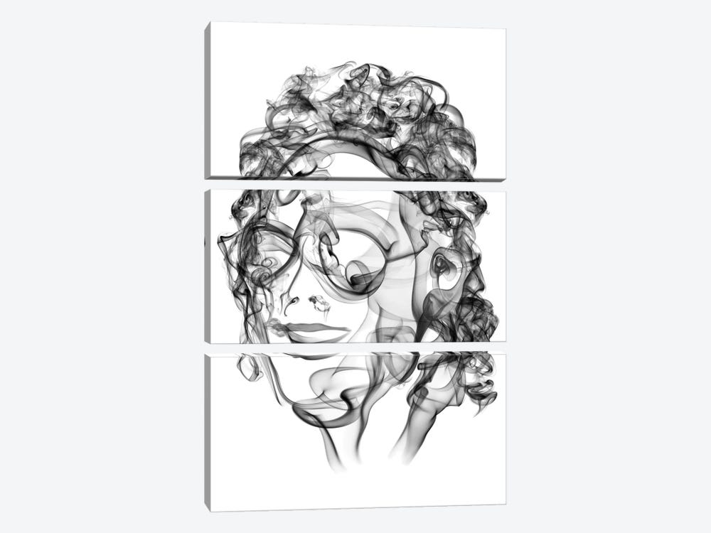 Michael Jackson by Octavian Mielu 3-piece Canvas Art Print