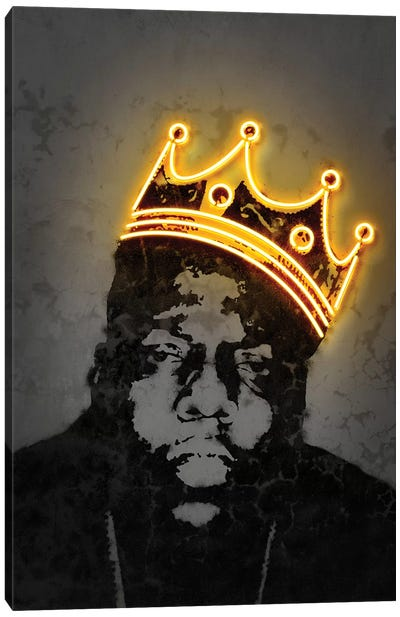 B.I.G. Canvas Art Print