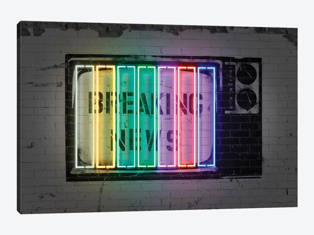 Breaking News by Octavian Mielu 1-piece Canvas Wall Art