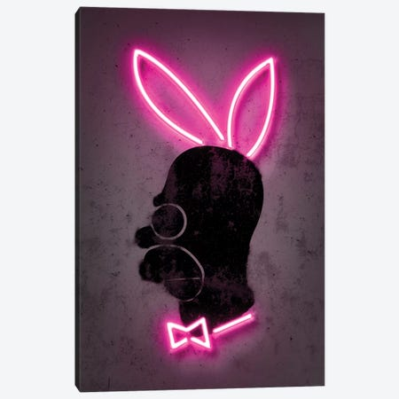 Bunny Canvas Print #OMU133} by Octavian Mielu Canvas Art