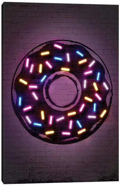 Donut Canvas Art Print