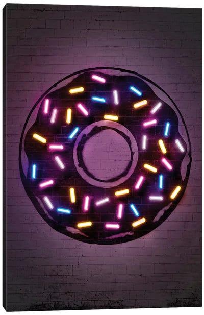 Donut Canvas Art Print