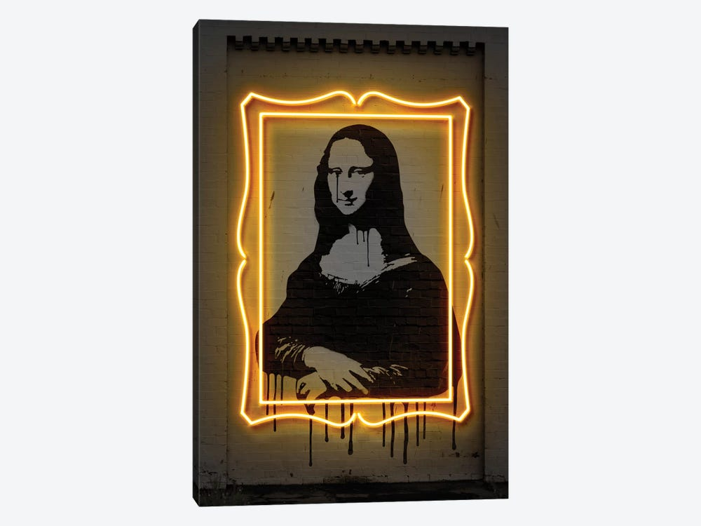 Mona Lisa by Octavian Mielu 1-piece Canvas Art Print