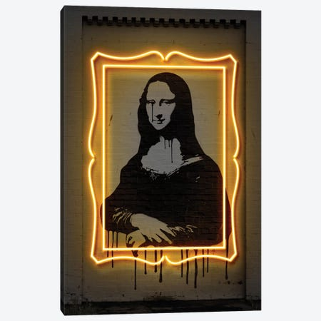 Mona Lisa Canvas Print #OMU142} by Octavian Mielu Art Print