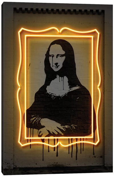 Mona Lisa Canvas Art Print