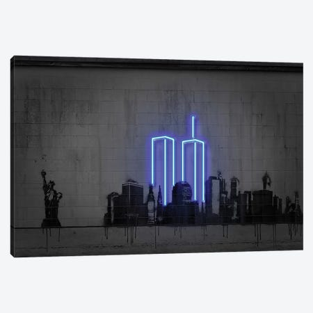 New York Canvas Print #OMU144} by Octavian Mielu Canvas Artwork