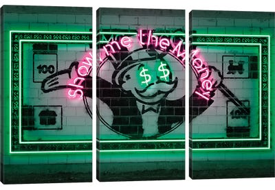 Show Me The Money Canvas Art Print
