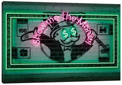 Show Me The Money Canvas Art Print