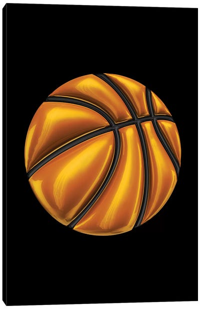 Basketball Canvas Art Print
