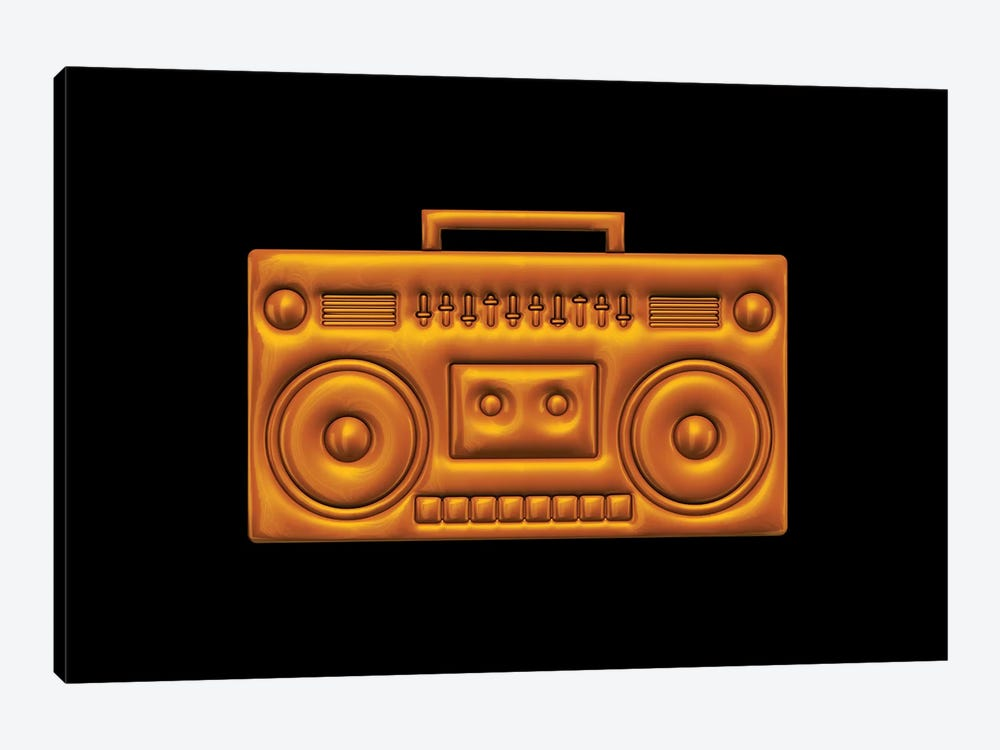 Boombox by Octavian Mielu 1-piece Canvas Artwork